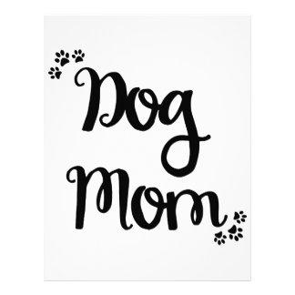 Dog Mom Letterhead