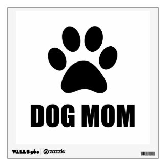 Dog Mom Paw Wall Sticker