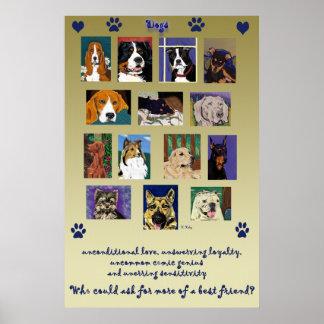 Dog Montage poster