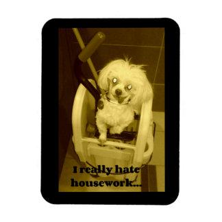 Dog Mop Bucket Magnet