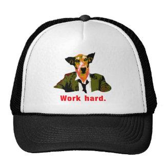 Dog more worker trucker hat
