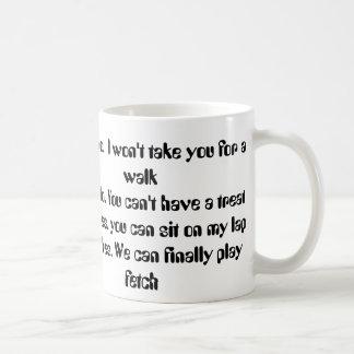 Dog Morning Timing Mug