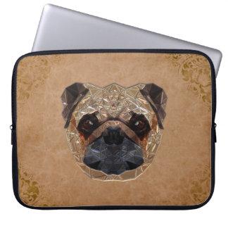 Dog Mosaic Computer Sleeve