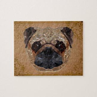 Dog Mozaic Jigsaw Puzzle