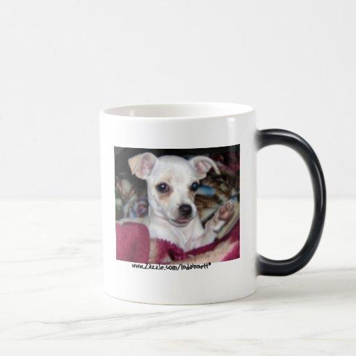 Dog-Mug. lindo Taza De Café