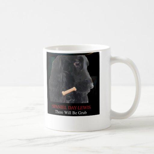 Dog mug SPANIEL Day-Lewis There Will Be Grub