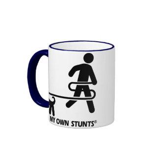Dog My Own Stunts Coffee Mug