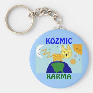 DOG n UNIVERSE KOZMIC KARMA Key Chain