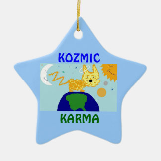DOG n UNIVERSE KOZMIC KARMA Ornament