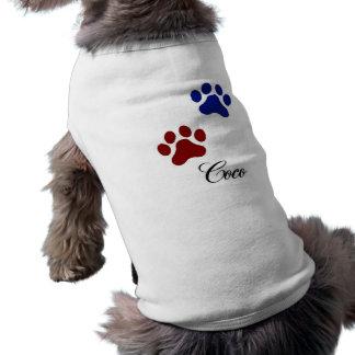 Dog name Coco Pet T Shirt