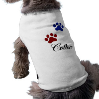 Dog name cotton T-Shirt