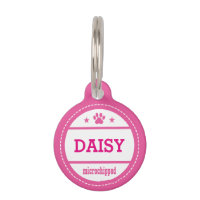 Dog Name Microchipped Call My People Pet Name Tag