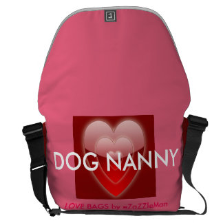 DOG NANNY Love Bag by eZaZZleMan.com