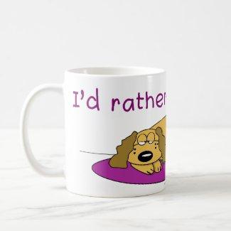 Dog Nap Mug mug
