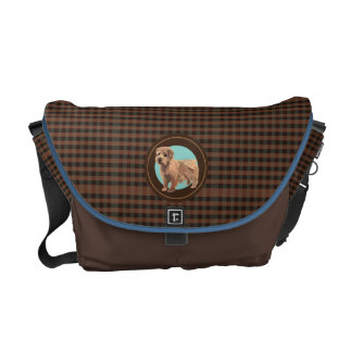 Dog Norfolk terrier Courier Bag