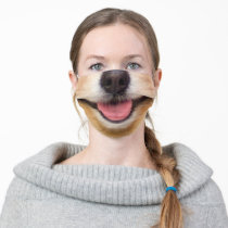 Dog Nose and Mouth Face Mask Funny Mask