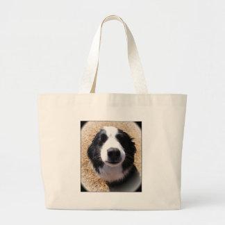 Dog Nose Photo Large Tote Bag