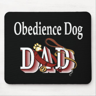 Dog Obedience Dad Mouse Pad