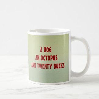 DOG, OCTOPUS mug $12.95