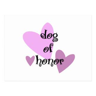 Dog of Honor Postcard