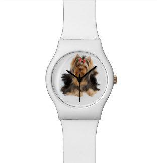 Dog of show class wrist watch