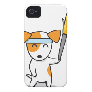 Dog Olympic Torch Relay Case-Mate iPhone 4 Case
