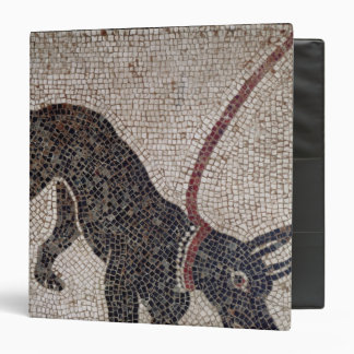 Dog on a leash, from Pompeii 3 Ring Binder