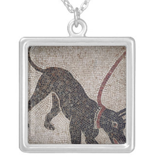 Dog on a leash, from Pompeii Pendant