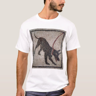 Dog on a leash, from Pompeii T-Shirt