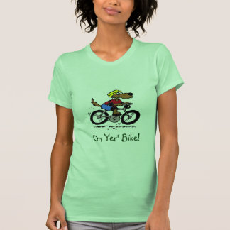 Dog On Bike! T Shirt