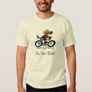 Dog On Bike! Tee Shirt