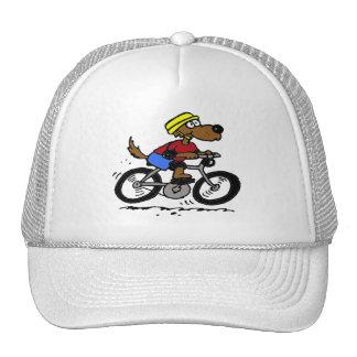 Dog On Bike! Trucker Hat