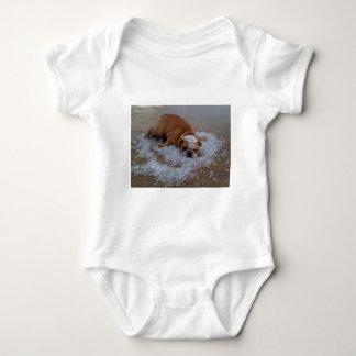 dog on ice, Dam I'm Hot T-shirt