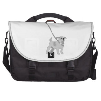 Dog On Leash Commuter Bags