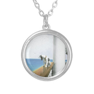 Dog On Steamship Necklace