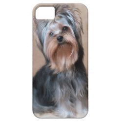 Case-Mate Vibe iPhone 5 Case with Yorkshire Terrier Phone Cases design