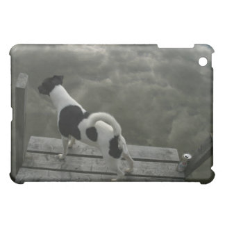 Dog on Top of Roof Case For The iPad Mini