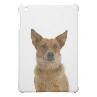 Dog on White 01 iPad Mini Cover