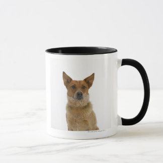 Dog on White 01 Mug