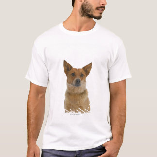 Dog on White 01 T-Shirt