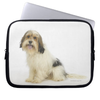 Dog on White 104 Computer Sleeves