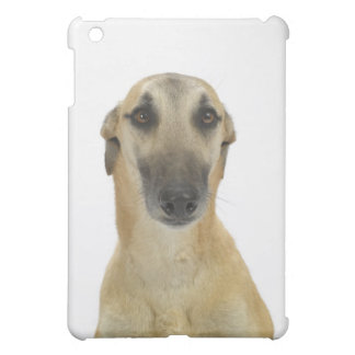 Dog on White 41 Cover For The iPad Mini