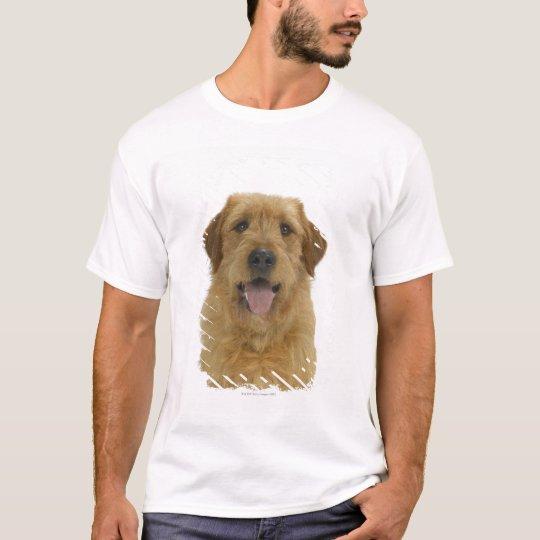 Dog on White 44 T-Shirt