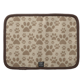 Dog or Cat Paw Prints Folio Planners