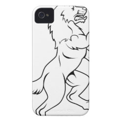 Case-Mate iPhone 4 Barely There Universal Case with German Shepherd Phone Cases design