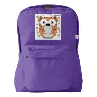 Dog(Orange) Backpack, Amethyst Backpack