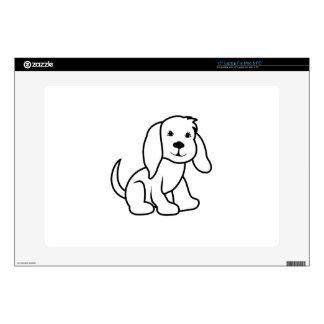 "Dog Outline 15"" Laptop Decal"