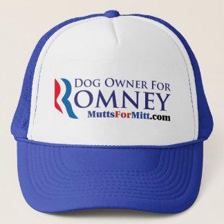 Dog Owner For Romney! Trucker Hat