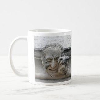 Dog owner's gargoyle mug