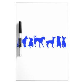 Dog Pack Dry Erase Board